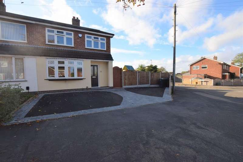3 Bedrooms Semi Detached House for sale in Roston Drive , Hinckley