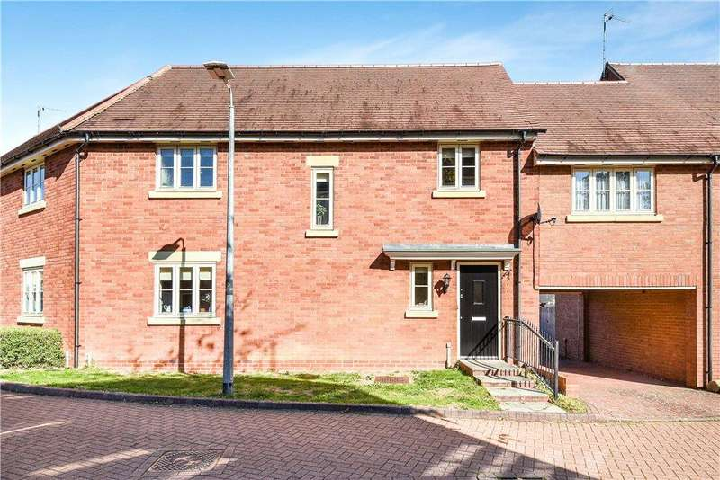 3 Bedrooms Terraced House for sale in Wagstaff Way, Olney, Buckinghamshire