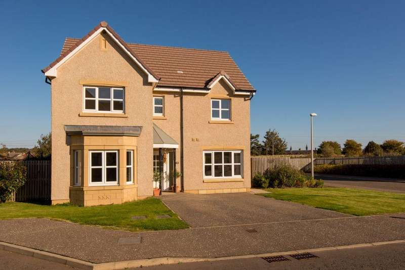 4 Bedrooms Detached House for sale in 33 Andrew Meikle Grove, East Linton, East Lothian, EH40 3EL