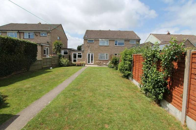3 Bedrooms Semi Detached House for sale in Downsway, Paulton, Bristol