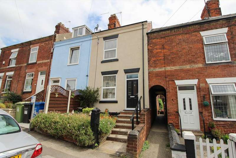3 Bedrooms Terraced House for sale in Rutland Road, Chesterfield