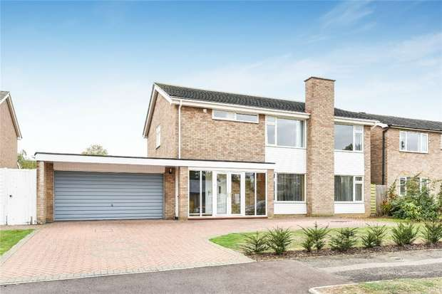 4 Bedrooms Detached House for sale in Parkstone Close, Bedford