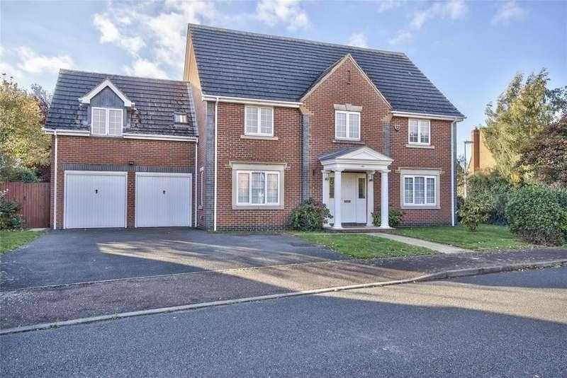 5 Bedrooms Detached House for sale in Miller Close, Godmanchester, Huntingdon, Cambridgeshire