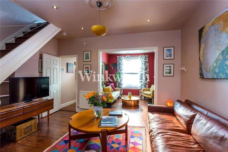 2 Bedrooms Terraced House for sale in Darwin Road, London, N22