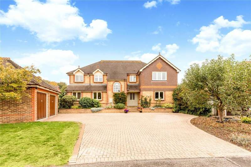 5 Bedrooms Detached House for sale in Pitter Close, Littleton, Winchester, Hampshire, SO22