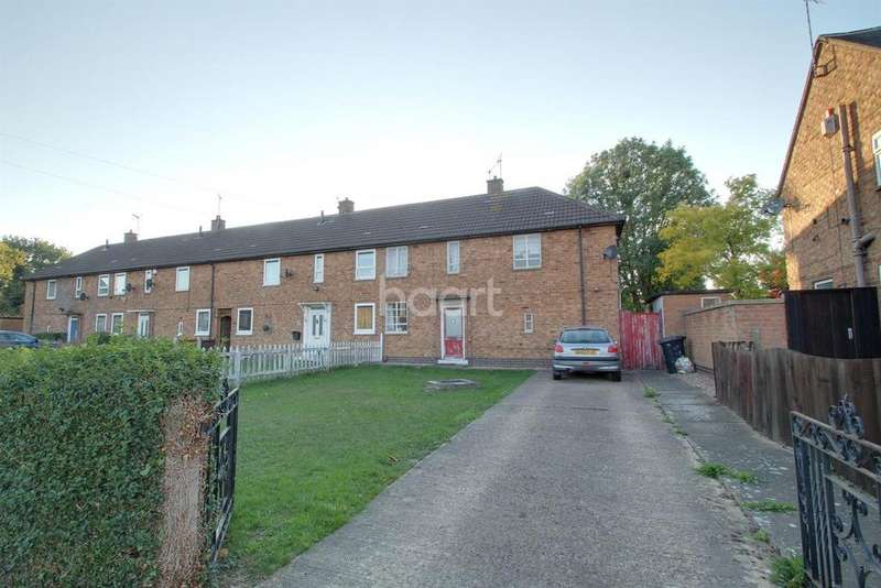 3 Bedrooms End Of Terrace House for sale in Falconer Crescent, Leicester