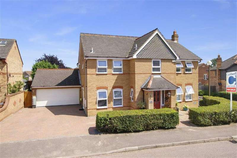 5 Bedrooms Detached House for sale in Roeburn Crescent, Emerson Valley, Milton Keynes, Bucks