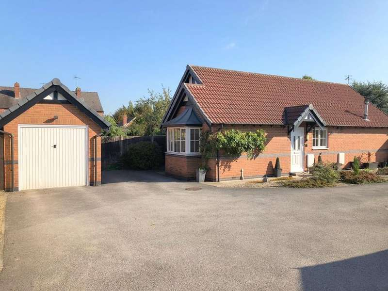 2 Bedrooms Detached Bungalow for sale in Newlands Close, Ripley
