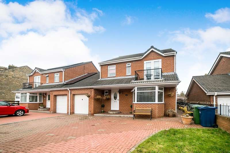 4 Bedrooms Detached House for sale in Caledonia, Blaydon-On-Tyne, NE21