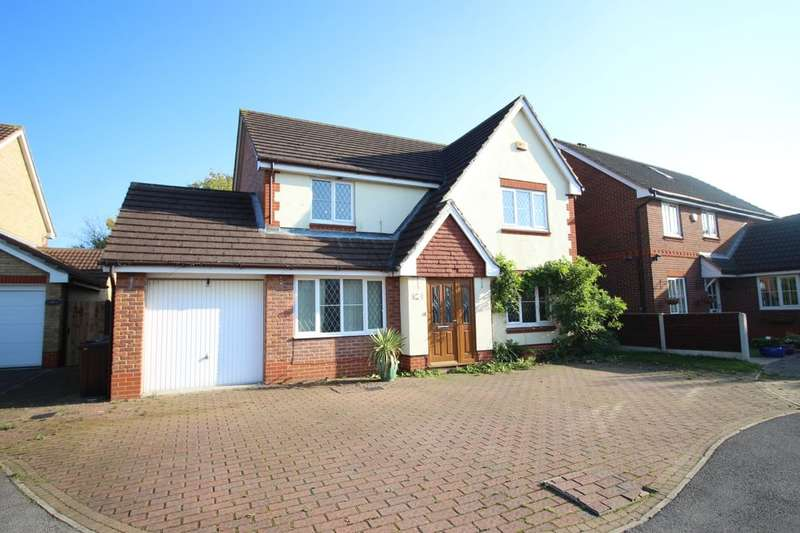 4 Bedrooms Detached House for sale in Lytham Close, Normanton, WF6