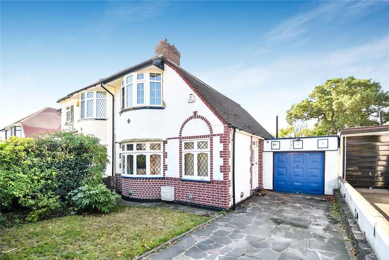 3 Bedrooms Semi Detached House for sale in Harewood Avenue, Northolt, Middlesex, UB5