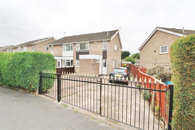 3 Bedrooms Semi Detached House for sale in Princess Drive, Grantham