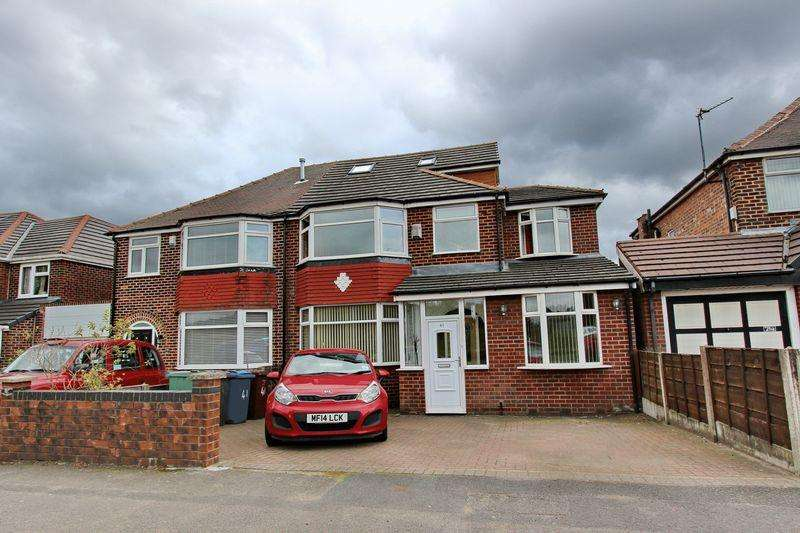 5 Bedrooms Semi Detached House for sale in Sheepfoot Lane, Prestwich, Manchester