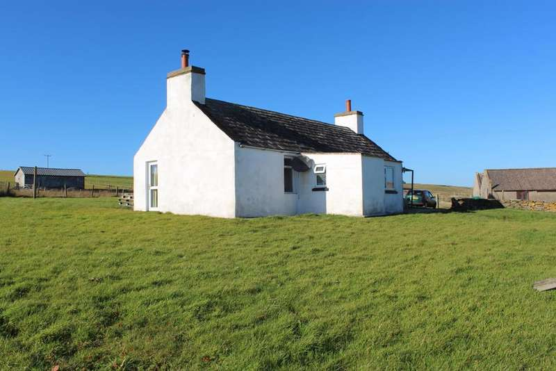 1 Bedroom Cottage House for sale in Groatha, Eday, Orkney KW17