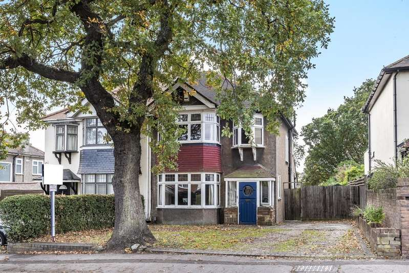 3 Bedrooms Semi Detached House for sale in White Horse Hill Chislehurst BR7