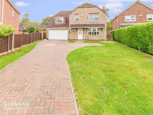 4 Bedrooms Detached House for sale in Mallard Close, Lincoln