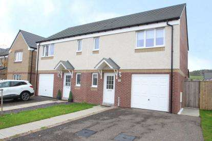 3 Bedrooms Semi Detached House for sale in Hallhill Drive, Johnstone, Renfrewshire