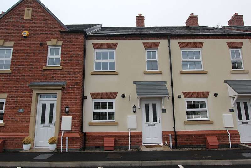2 Bedrooms Terraced House for sale in Peacock Place, Wigston, Leicestershire, LE18 2GF