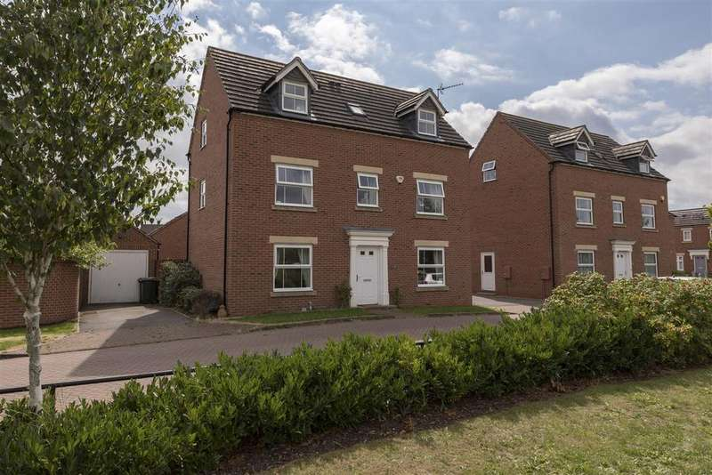 5 Bedrooms Detached House for sale in Jasper Close, Coventry