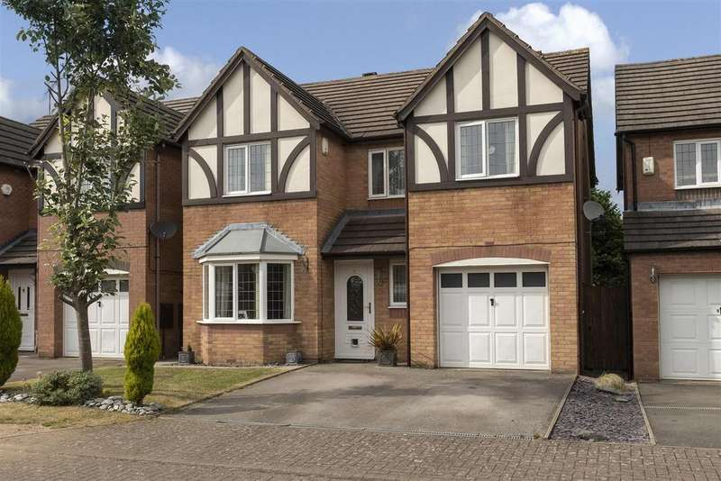 4 Bedrooms Detached House for sale in Battalion Court, Keresley, Coventry