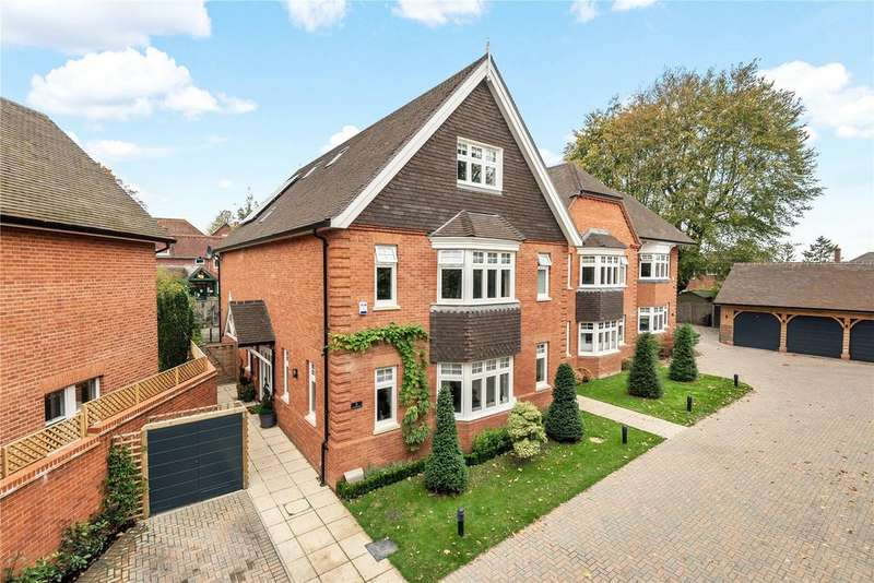 5 Bedrooms Detached House for sale in Mathom Court, 15 Bereweeke Road, Winchester, Hampshire, SO22