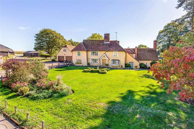 4 Bedrooms Detached House for sale in Bardfield Road, Thaxted, Nr Great Dunmow, Essex, CM6