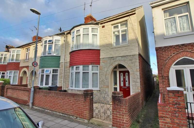 4 Bedrooms End Of Terrace House for sale in Devon Road, Copnor