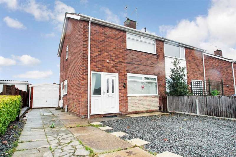3 Bedrooms Semi Detached House for sale in Bradbury Avenue, Lincoln