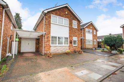 3 Bedrooms Detached House for sale in Lonsdale Close, Luton, Bedfordshire, England