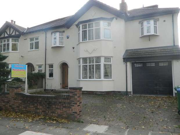 5 Bedrooms Semi Detached House for sale in Blackmoor Drive, Liverpool, L12