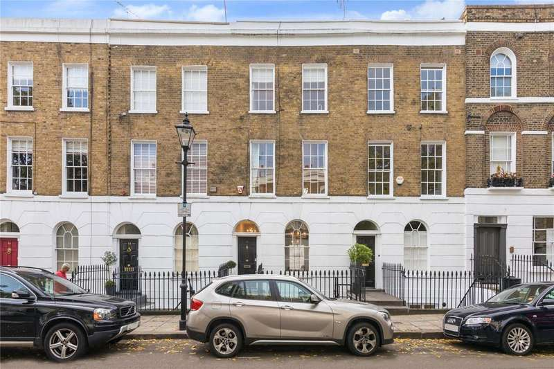 4 Bedrooms Terraced House for sale in Burgh Street, Islington, London