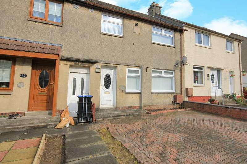 3 Bedrooms Terraced House for sale in Croe Place, Bellfield, Kilmarnock KA1