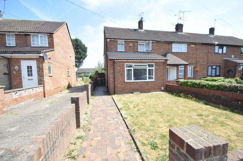 2 Bedrooms End Of Terrace House for sale in Chesford Road, Luton