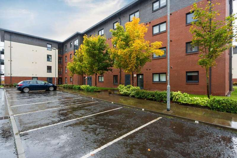 2 Bedrooms Flat for sale in Flat 3/1, 2 Cardon Square, Renfrew, PA4 8AP