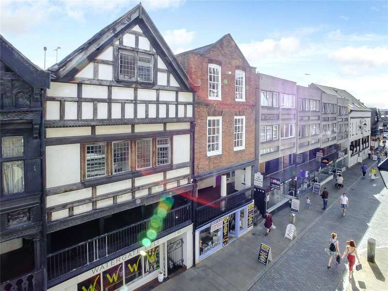3 Bedrooms Terraced House for sale in Watergate Row South, Chester