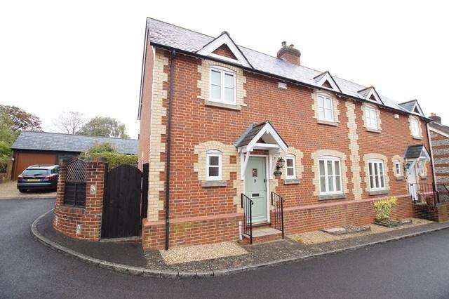 3 Bedrooms Semi Detached House for sale in St. Nicholas Gardens, Durweston, Blandford Forum