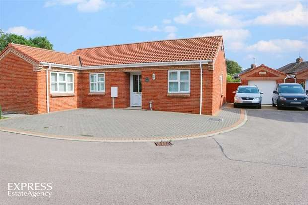 3 Bedrooms Detached Bungalow for sale in Sunflower Close, Spalding, Lincolnshire