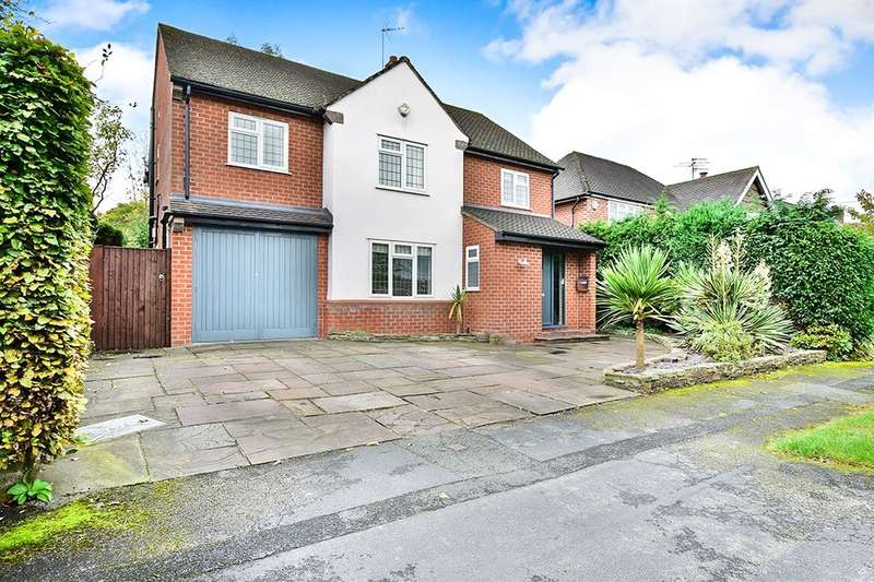 5 Bedrooms Detached House for sale in Woodlands Road Pownall Park, Wilmslow, SK9