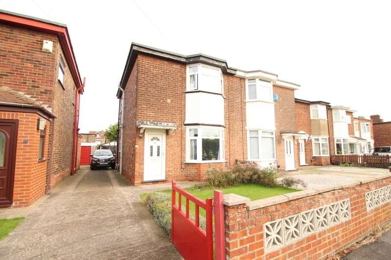 2 Bedrooms Semi Detached House for sale in Malvern Road, Hull, HU5