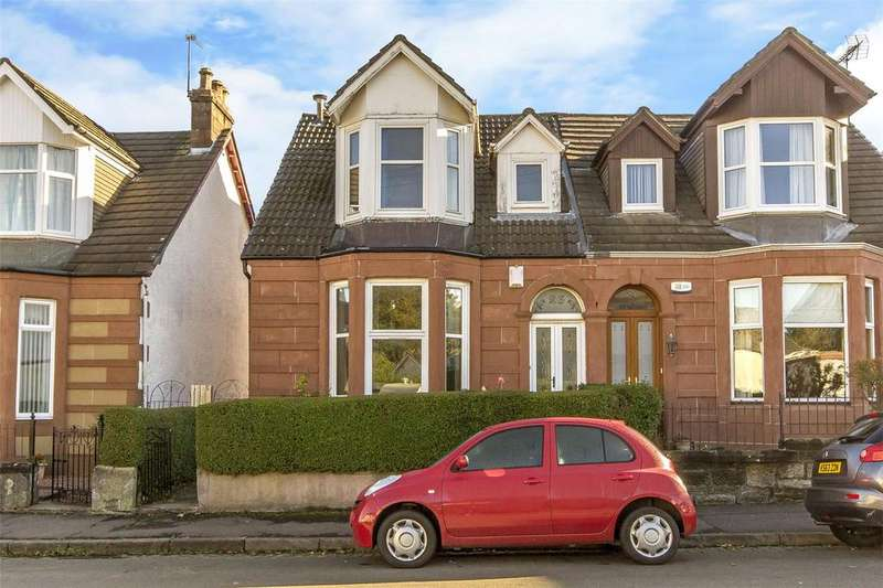 3 Bedrooms Semi Detached House for sale in 26 Maryland Drive, Bellahouston, Glasgow, G52