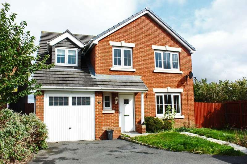 5 Bedrooms Detached House for sale in Beckwith Close, Kirk Merrington, DL16