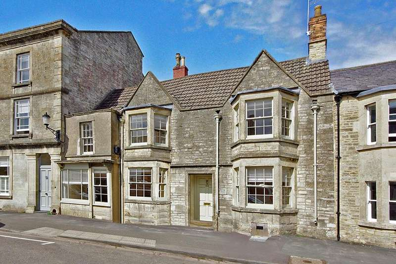4 Bedrooms Country House Character Property for sale in Old Tannery House, 44 High Street, Marshfield