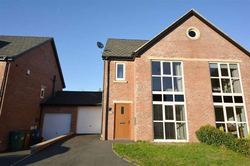 4 Bedrooms Semi Detached House for sale in Delphside Close, Orrell, Wigan, WN5