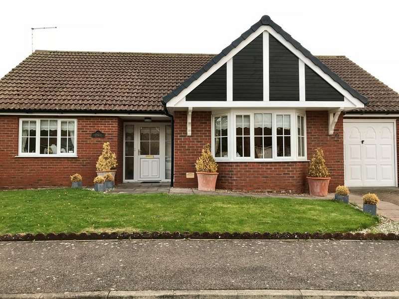 3 Bedrooms Bungalow for sale in Casswell Drive, Quadring, Spalding, PE11