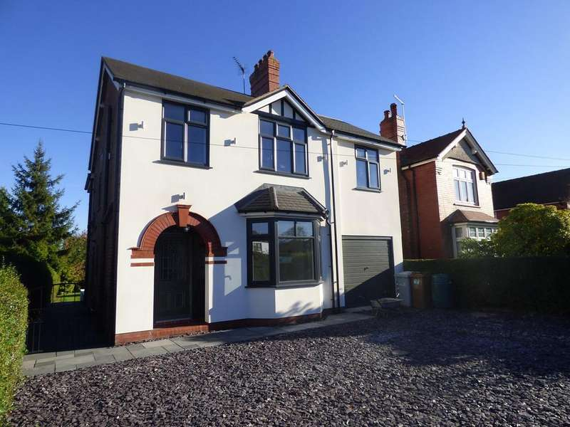 4 Bedrooms Detached House for sale in Crewe Road, Sandbach, CW11