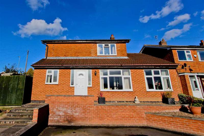 3 Bedrooms Detached House for sale in Hazlehead Road, Anstey