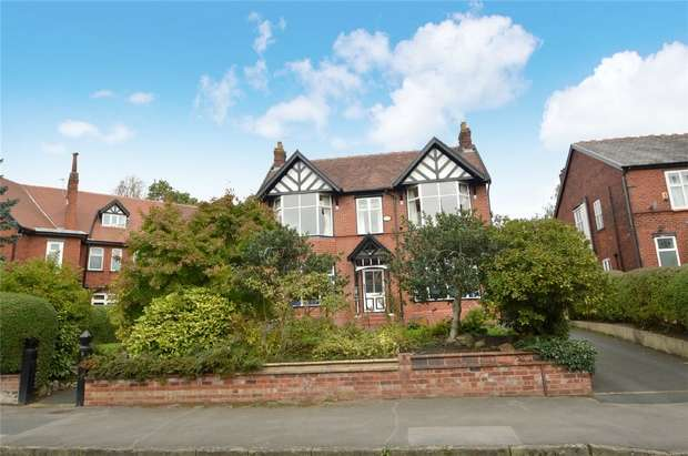 4 Bedrooms Detached House for sale in Devonshire Park Road, Davenport, Stockport, Cheshire