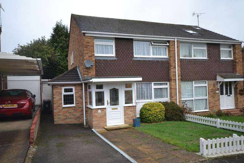 3 Bedrooms Semi Detached House for sale in Brill Close, Caversham, Reading