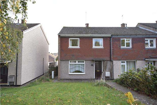 2 Bedrooms End Of Terrace House for sale in Witcombe Close, BRISTOL, BS15 4RY