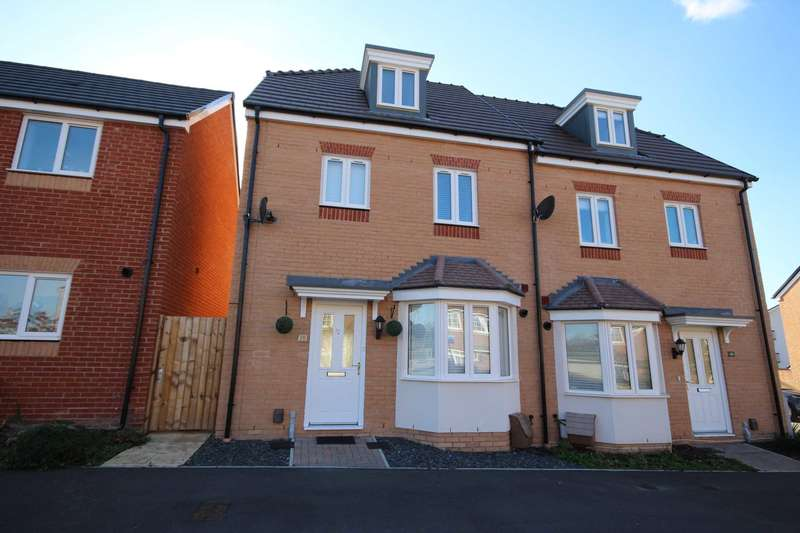 4 Bedrooms Semi Detached House for sale in Falcon Way, Jennett`s Park